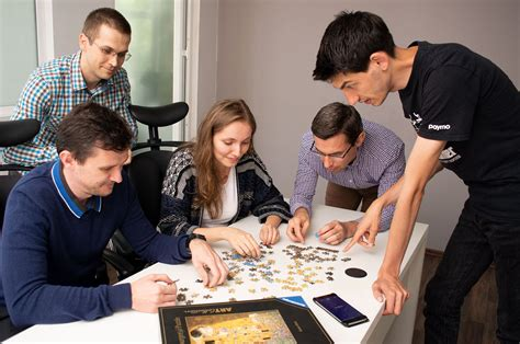 Office Team Building by 20 Team Building Activities That Your Team Won T Sigh At