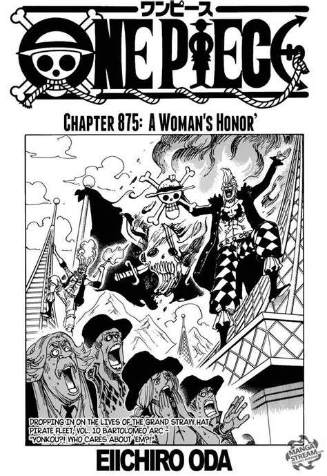 Read One Piece Chapter 875 - MangaFreak