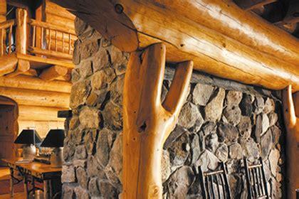 log homes interior finishes  sansin corporation