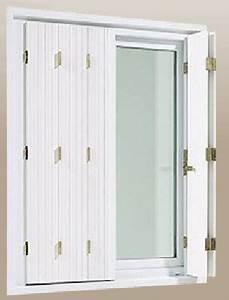 Volet Persienne Pvc Prix : volet pliant pvc blanc mesdemos ~ Premium-room.com Idées de Décoration