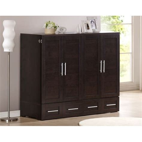 Chest Cabinet Bed - zzz chest studio sleeper cabinet bed size