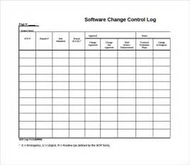 Issue Tracking Template Excel Sle Change Log Template 6 Free Documents In Pdf