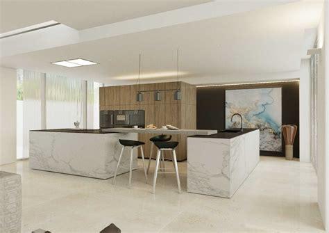 cuisine ouverte avec ilot table aménager une cuisine ouverte sur salle à manger