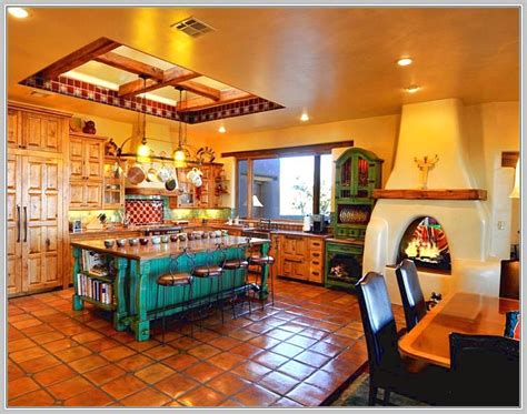 mexican kitchen decor home design ideas  images