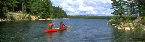 Canoes In Ontario by Paddling Experience At Ontario Parks