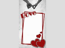 Love frame with heart FreeProducts
