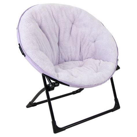 fuzzy kids saucer chair pillowfort target