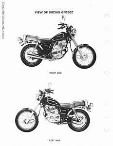 Vt 5072  Suzuki Gsx250 1982 Z Electrical Schematic Partsfiche Free Diagram