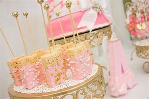Thank Heaven For Little Girls Baby Shower via Kara's Party