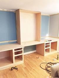 built in desk Built-In Desk Reveal - The Cofran Home