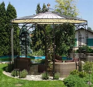 Gartenpavillon Aus Metall : die 25 besten ideen zu gartenpavillon metall auf ~ Michelbontemps.com Haus und Dekorationen