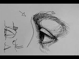 Pen and Ink Drawing Tutorials | How to draw an eye in side ...