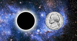 What if a black hole the size of a coin suddenly appears ...