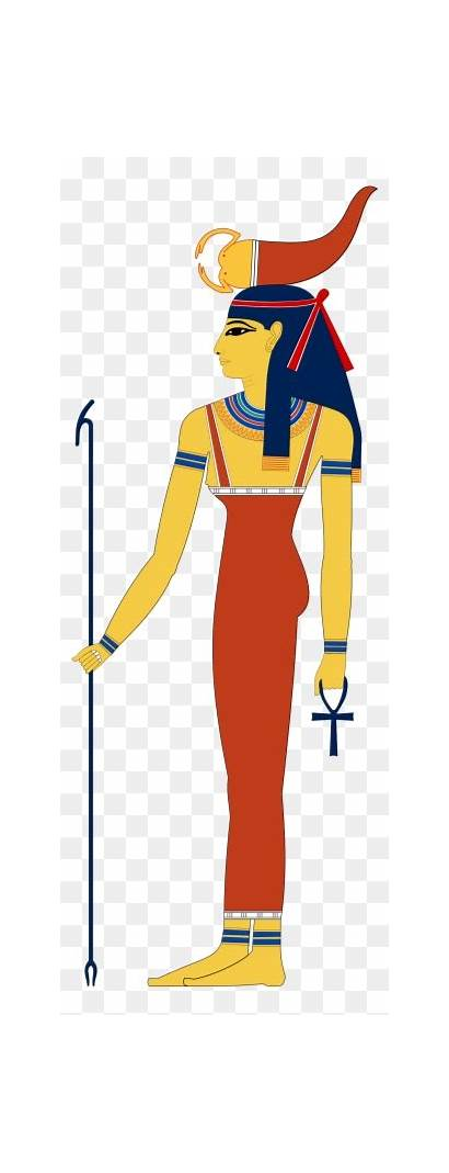 Egyptian God Ancient Clip Anubis Isis Gods