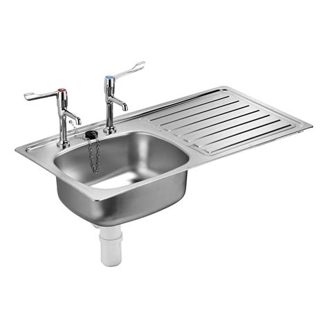 taps for kitchen sinks stewart inset sink single bowl stainless steel sinks 6006