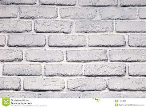 Brique De Mur Peinte Photographie Stock
