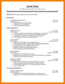 resume exles for objective section 9 medical resume bibliography formated