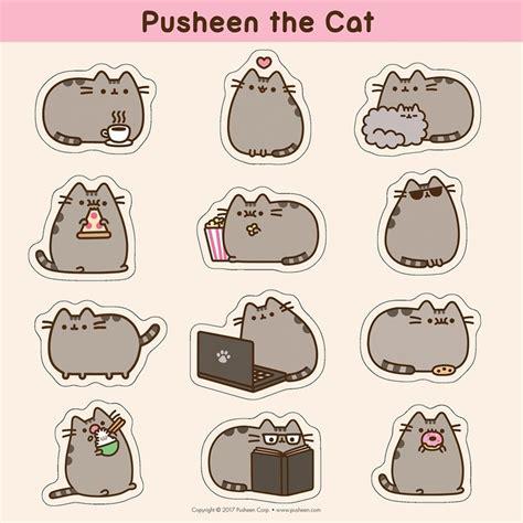 Pusheen The Cat 2018 Wall Calendar 9781449484705