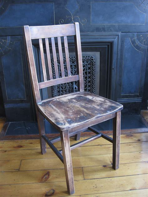 arm chair dining wood seating primate props
