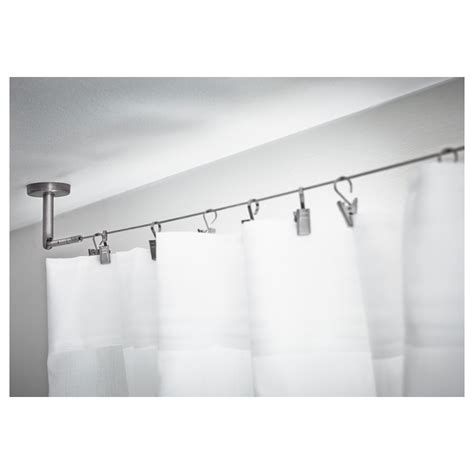 shower curtain track ceiling mounted shower curtain