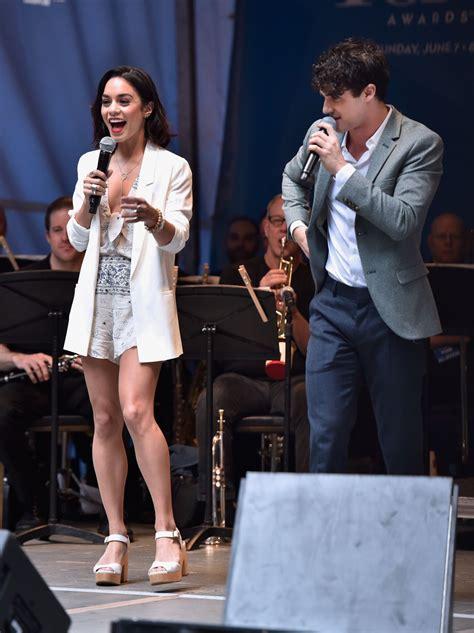 Vanessa Hudgens - #StarsInTheAlley Outdoor Concert ...
