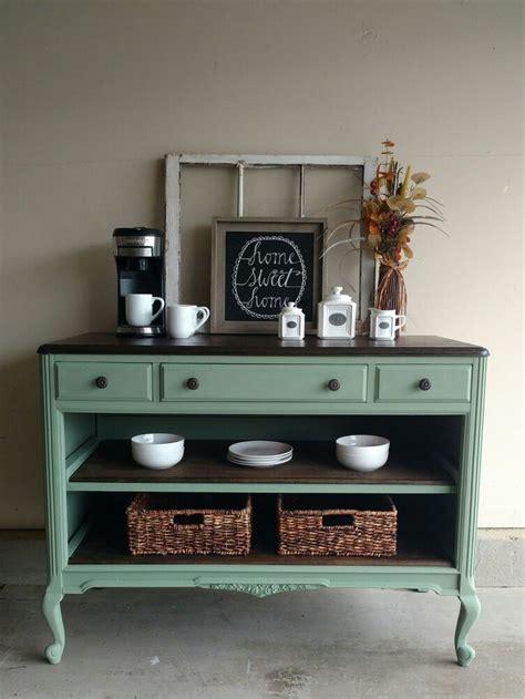 antique dresser turned coffee bar furniture diy