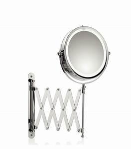 Miroir Rond Led : miroirs grossissants et miroirs de salle de bain ~ Teatrodelosmanantiales.com Idées de Décoration