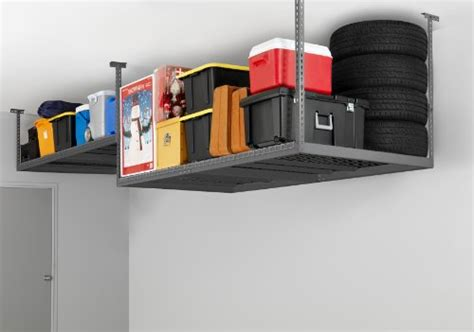 newage ceiling storage rack canada newage products 40151 4 by 8 ceiling mount