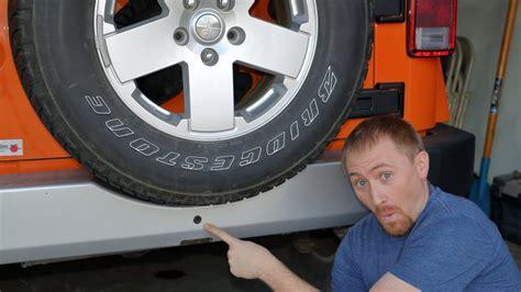 jeep wrangler jk backup camera install youtube