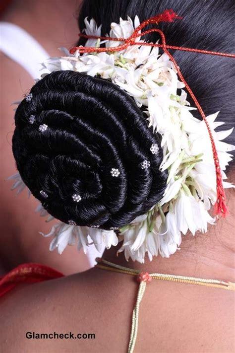 traditional gajra hairstyles indian bridal makeup