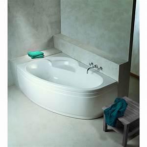 Baignoire D Angle Asymétrique : baignoire new anco asym trique droite en acrylique repose ~ Premium-room.com Idées de Décoration