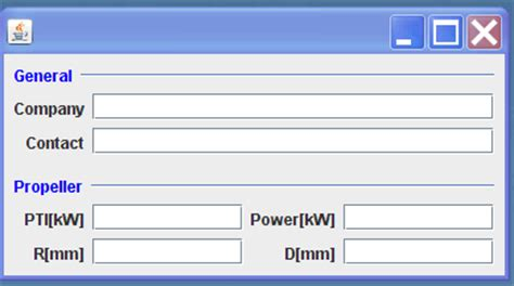 java swing layout pagelayout a layout manager for java swing awt