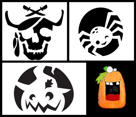 Cute Photography Love Halloween Pumpkin Carving Patterns