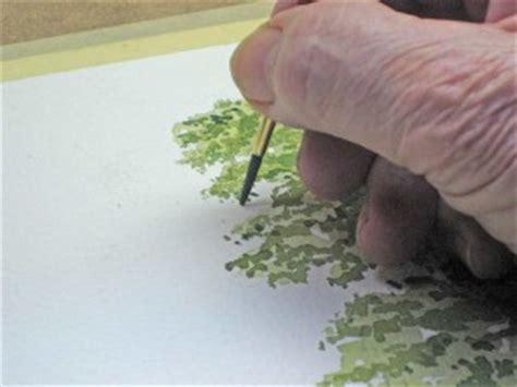 einen baum malen mit aquarellfarben john fisher wie malt