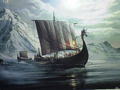Viking Wallpapers Vikings Ship Warrior Background Boat