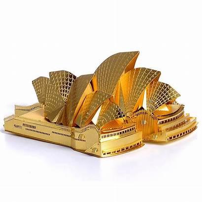 Sydney Opera Piececool 3d Kits Metal Diy