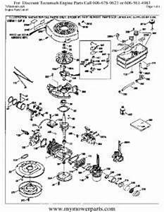 Tecumseh Engine Parts Diagram