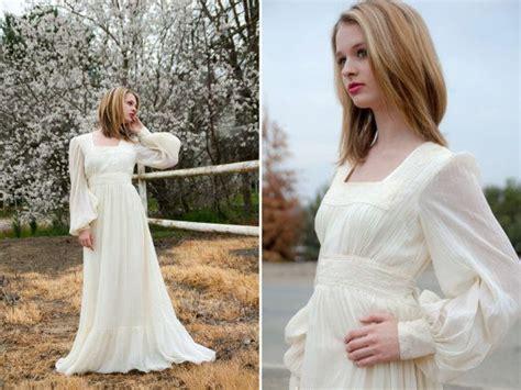 Reserved For Jessica Vintage 1960s Ivory White Boho