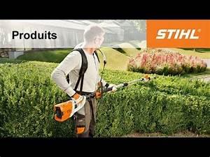 Taille Haie Stihl Perche : taille haie sur perche batterie hla 85 stihl youtube ~ Dailycaller-alerts.com Idées de Décoration