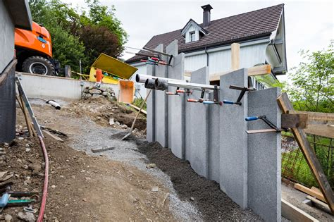 Garten Sichtschutz Mauern by Sichtschutz Mauer Forrerbau Ag