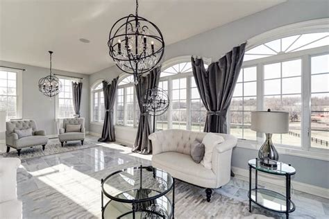 chic modern chandeliers for living room modern ideas