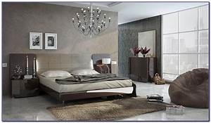 Opera Italian Classic Beige Gold Classic Lacquer Bedroom