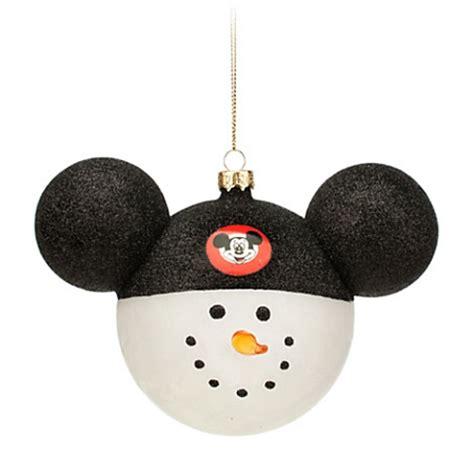 disney christmas ornament snowman mickey mouse club