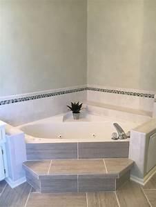 Beautiful salle de bain avec baignoire dangle pictures for Tapis design avec canapé angle petite taille