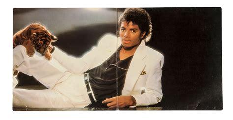 Michael Jackson Signed Thriller Album Cover
