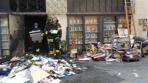 libreria thiene incendio libreria leoni thiene