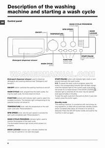 Hotpoint Fml 942p Front Load Washer Instructions For Use