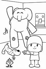 Coloring Pages Pocoyo Para Colorear Printable Imprimir Cool2bkids Colouring Children Print Printables Sheets Party Paginas Toddler Toddlers Books Spanish sketch template