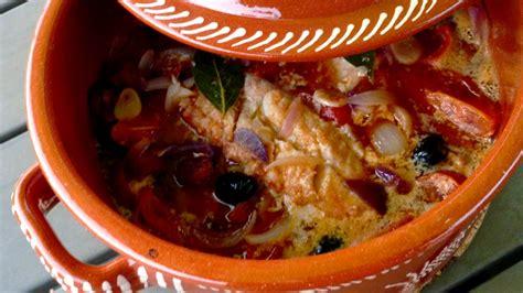 cuisine portugaise morue morue au chourico cuite au four bacalhau no chourico