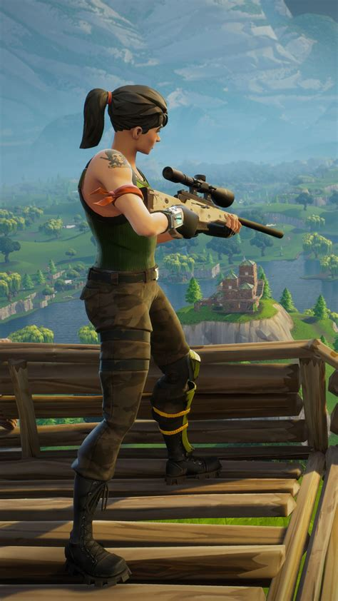 fortnite sniper   wallpapers  iphone